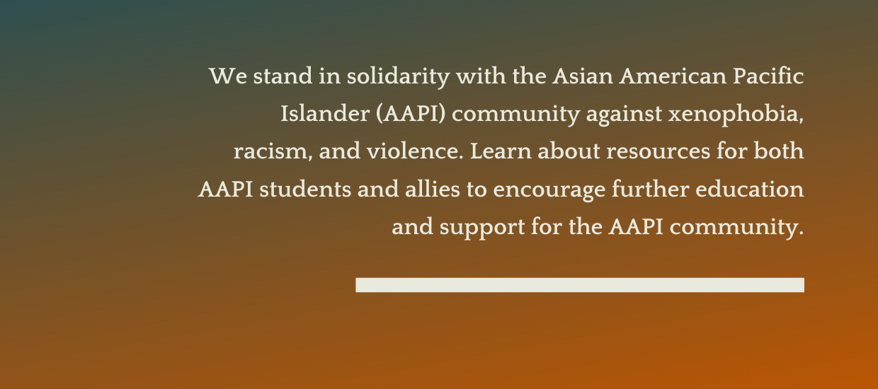 Standing Against AAPI Violence